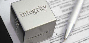 Tax preparation with integrity