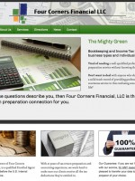 Four Corners Financial Website Screenshot